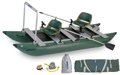 sea pro boats quality 2 person inflatable pontoon boat review