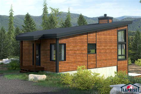 Mini House Design by Designer Zen Contemporain Bordure De Lac Chalet