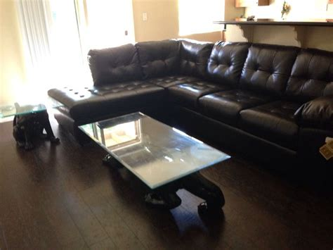 1000 images about leather sectional with vintage black