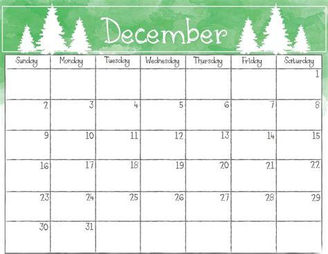 Galerry blank printable calendar with holidays