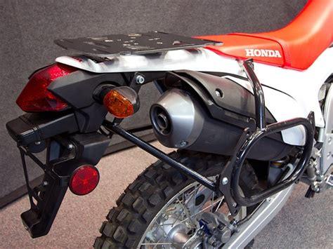 Crf250l Rack by Wolfman Shows Honda Crf250l Touring Bag Racks