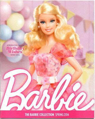 barbie collector catalog collection book ad magazine birthday wishes spring  ebay