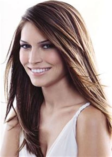 long layered side part hairstyles long layered side part hair pinterest