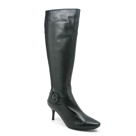 solemani s rochelle black leather narrow calf