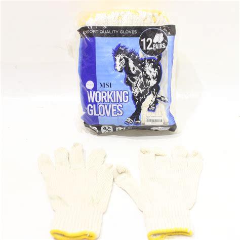 Sarung Tangan Industri sarung tangan b 4 kuning kuda 12pcs jawatimuronline