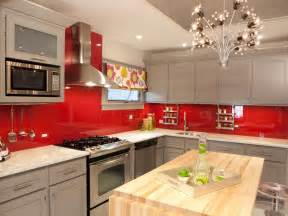 Red Backsplash Kitchen best colors to paint a kitchen pictures amp ideas from hgtv kitchen