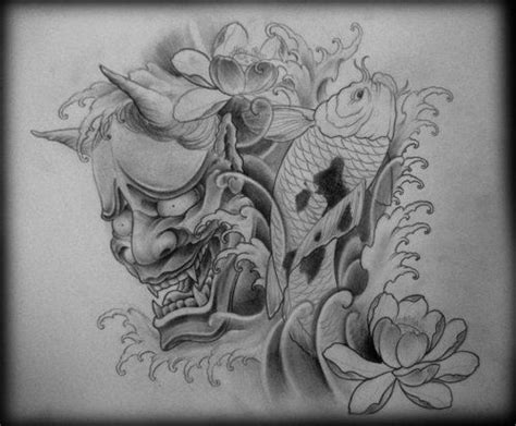 25 best ideas about hannya mask tattoo on pinterest oni