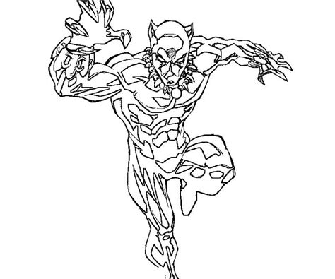 color your own black panther books black panther coloring page coloring home