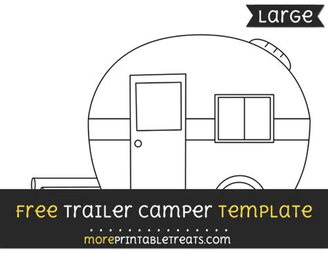 Trailer Cer Template Large Trailer Templates Free