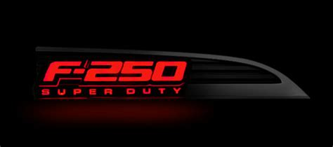 lighted f150 emblem 2016 2011 2016 f250 recon illuminated side emblems 264285