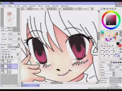 paint tool sai tutorial colorear coloring paint tool sai skin and maybe tutorial xd