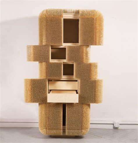 designer schrank sharpened wood cabinet 12 fubiz media
