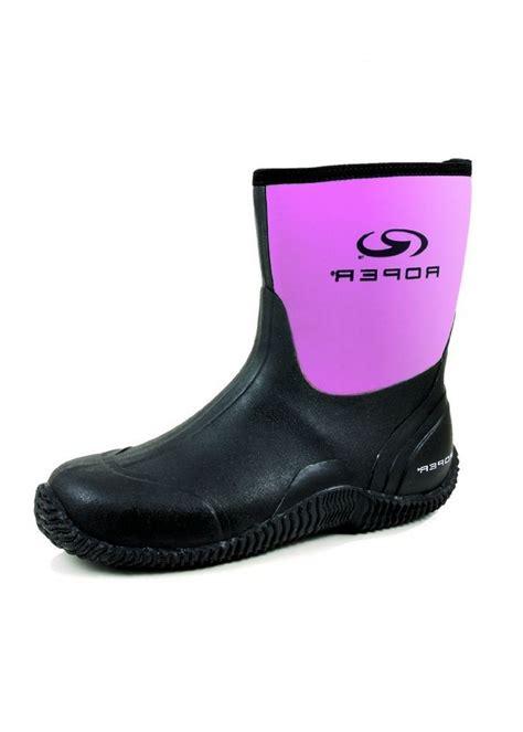barn boots womens roper work boots womens 9 rubber barn muck no holes 8 b