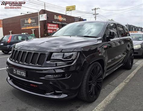Black Jeep Grand Black Rims Jeep Grand Kmc Km677 D2 Wheels Gloss Black