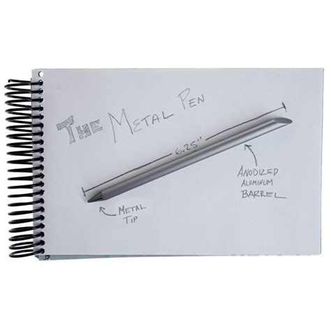 The Inkless Metal Pen Pena Besi the inkless metal pen pena besi black jakartanotebook