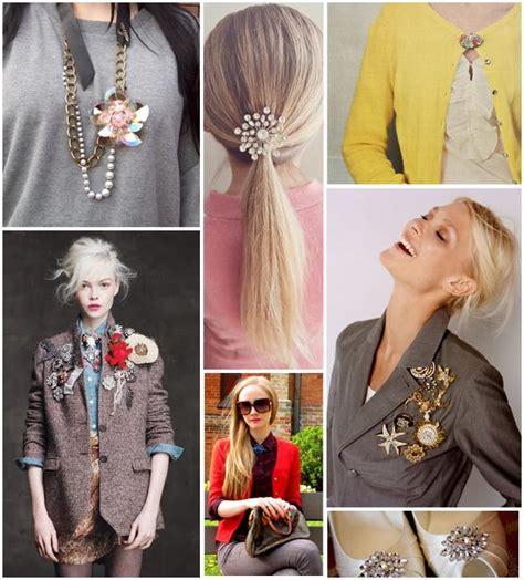 Ways To Wear A Brooch by Chic Ways To Wear Brooch Jewelry Jewelry Gossip