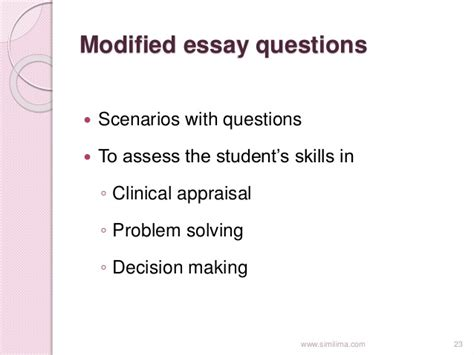 question pattern definition modified essay question definition illustrationessays
