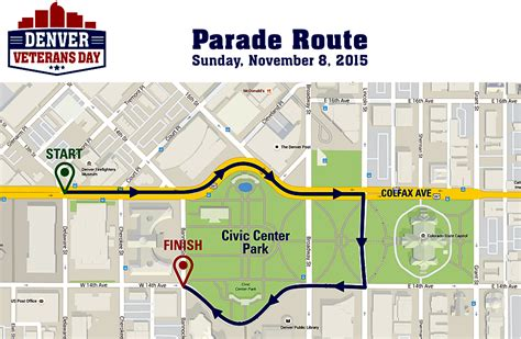 new year parade route 2015 denver veterans day sunday november 8th
