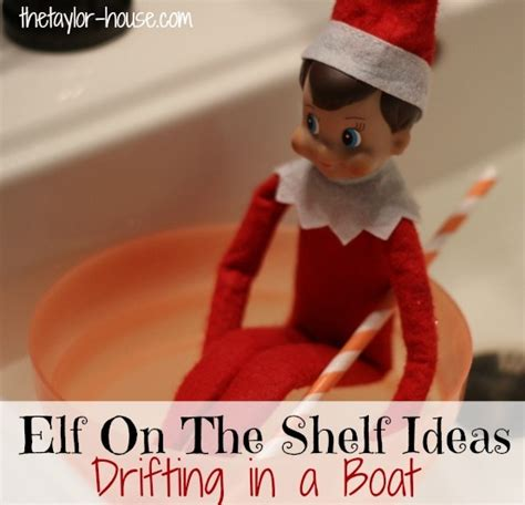 What Does An On The Shelf Do by On The Shelf Ideas Drifting In A Boat Elfontheshelf