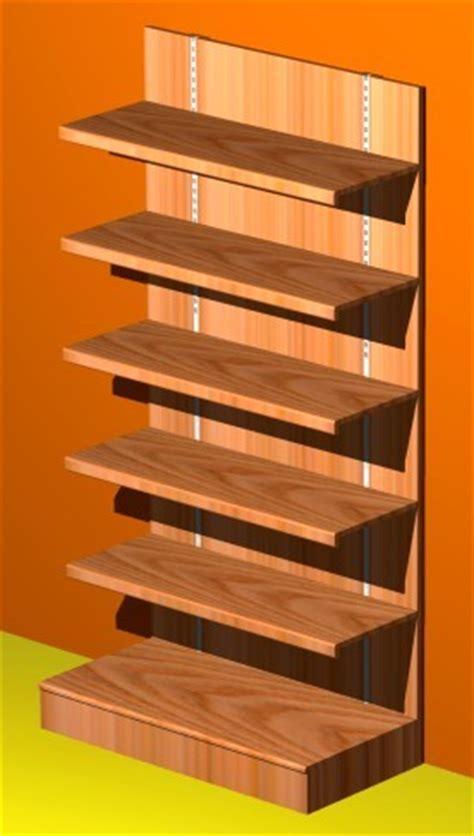 scaffali in legno grezzo casa moderna roma italy scaffalature legno