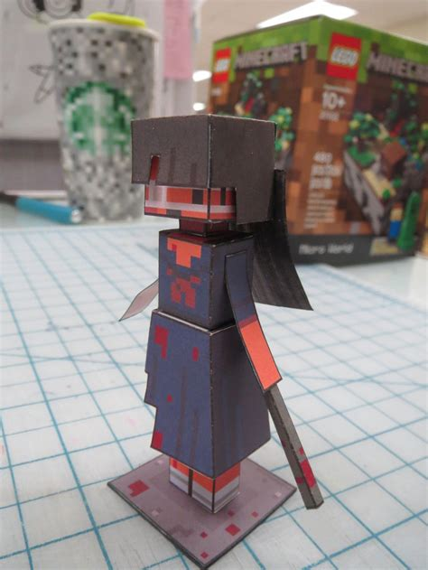 Tubbypaws Papercraft - tubbypaws papercraft of a samurai by hernandroid on