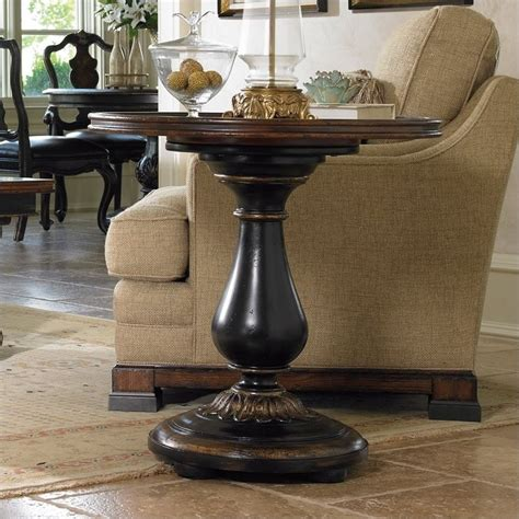 Patio Canopies And Gazebos Hooker Furniture Grandover Round Pedestal End Table 5029