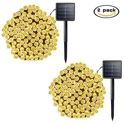 Best Solar String Lights Best Outdoor String Lights Get Instant Warm Patio Lights