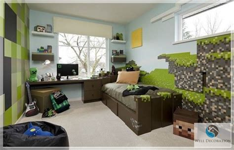 Minecraft Room Decor Ideas Minecraft Room Decor Minecraft Themed Bedroom