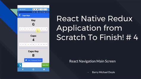 tutorial react native pdf react native redux tutorial 4 react navigation main