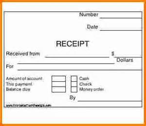 7 printable cash receipt expense report