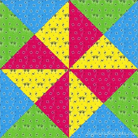 Bandana Quilt Patterns by Sylvia S Stitches Crafty S Bandana Quilt Quilts