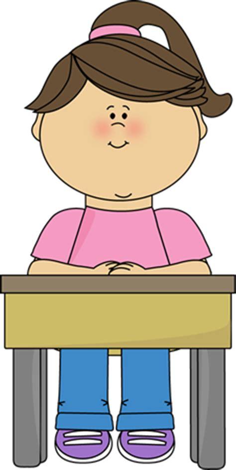 Student Sitting At Desk Girl Clip Art Pinterest Student Sitting At Desk Clipart