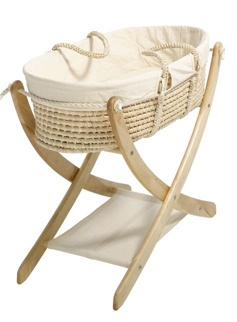 329 seed organic the pod baby moses basket and stand