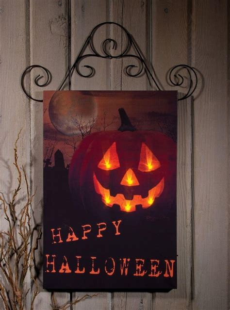 lighted canvas on pinterest light up canvas canvas 20 collection of halloween led canvas wall art wall art