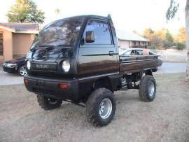 Small Suzuki 4x4 Transport A 1991 Suzuki Carry Japanese Mini Truck 4x4 To