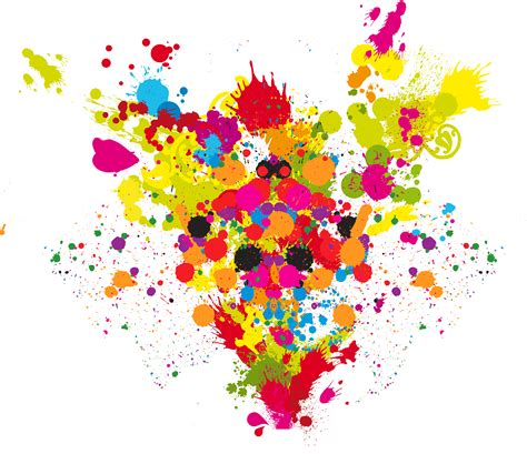paint splatter png clipart best color