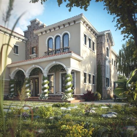 beautiful tuscan villa in dubai