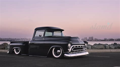 Tuned Up Cars Wallpapers by 1957 Chevy 3100 Tuning Custom Rod Rods