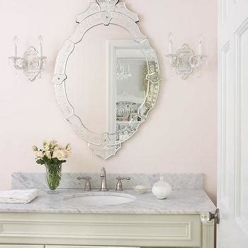 beach colored bathroom mirror shabby chic hand painted venetian mirror design decor photos pictures ideas