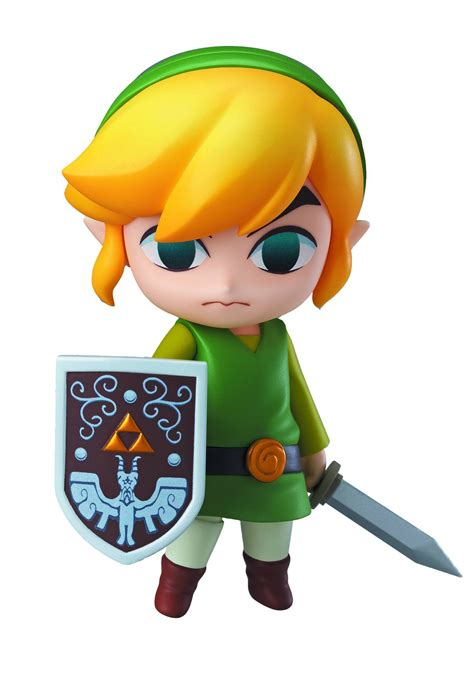 Loz Gift Small 9317 the legend of wind waker link nendoroid figure