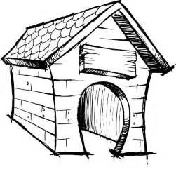 Dog House Coloring Pages sketch template