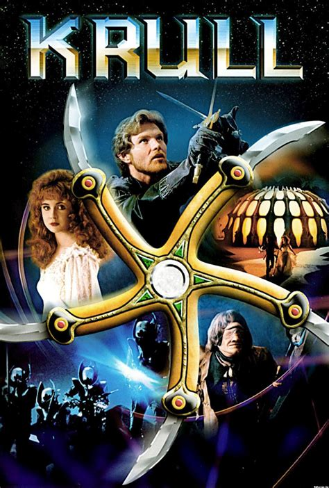 krull fantasy film the geeky nerfherder movie poster art krull 1983
