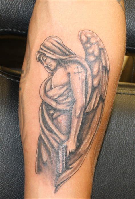 tattoo angel with guns urban tattoo warrington