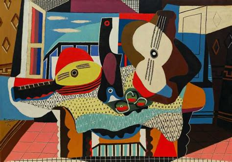 Picasso Synthetischer Kubismus by Cubism The Abstract Style Of Modern