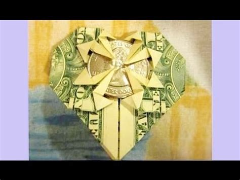 Money Origami With Quarter - s day crafts how to fold from 1