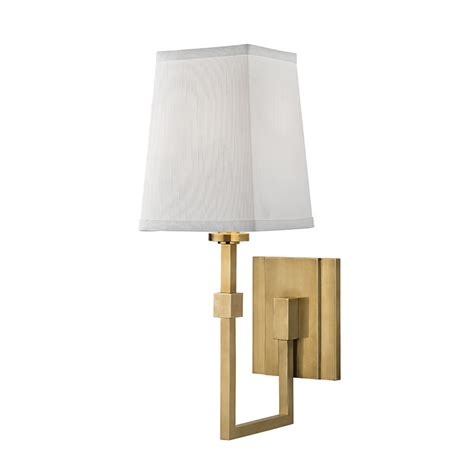 Hinkley Lighting Hudson Valley 1361 Agb Fletcher Modern Aged Brass Wall