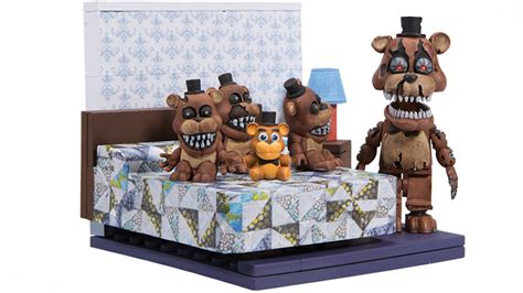 4 Bedroom Floor Plan by New Five Nights At Freddy S Building Sets Spotlight The