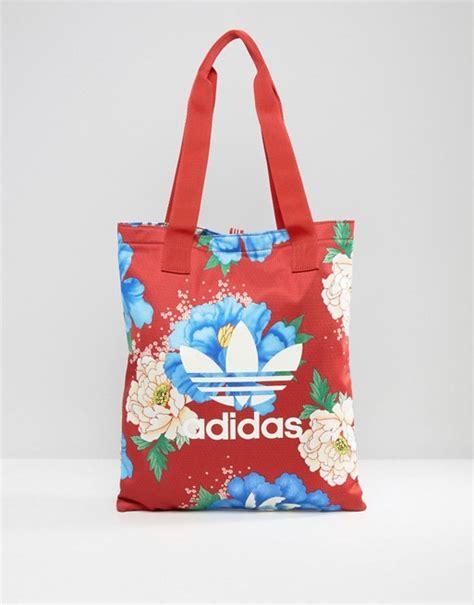 Floral Shopper Bag adidas originals adidas originals farm print floral