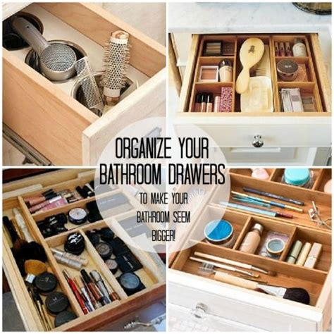 How To Organize Bathroom Drawers by Ways To Organize Your Bathroom Make Up Storage