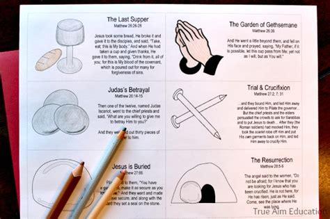 easter resurrection story cards free printable true aim easter resurrection story cards free printable true aim